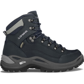 Lowa Renegade GTX Mid-Cut Schuhe Damen navy/grey